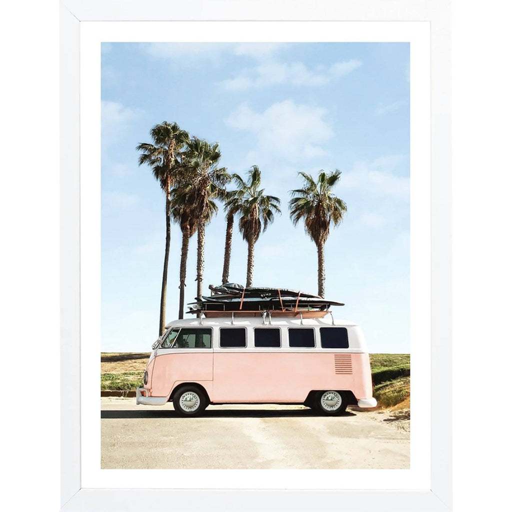 Venice Beach Framed Wall Art Wall Art Iamfy