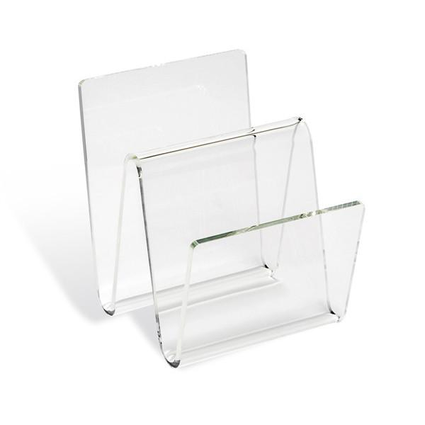 Waverly Acrylic Magazine Rack  Interlude Home Accessories - 1