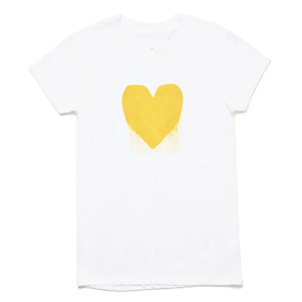 Drenched in Love Drippy Heart Tee Kerri Rosenthal