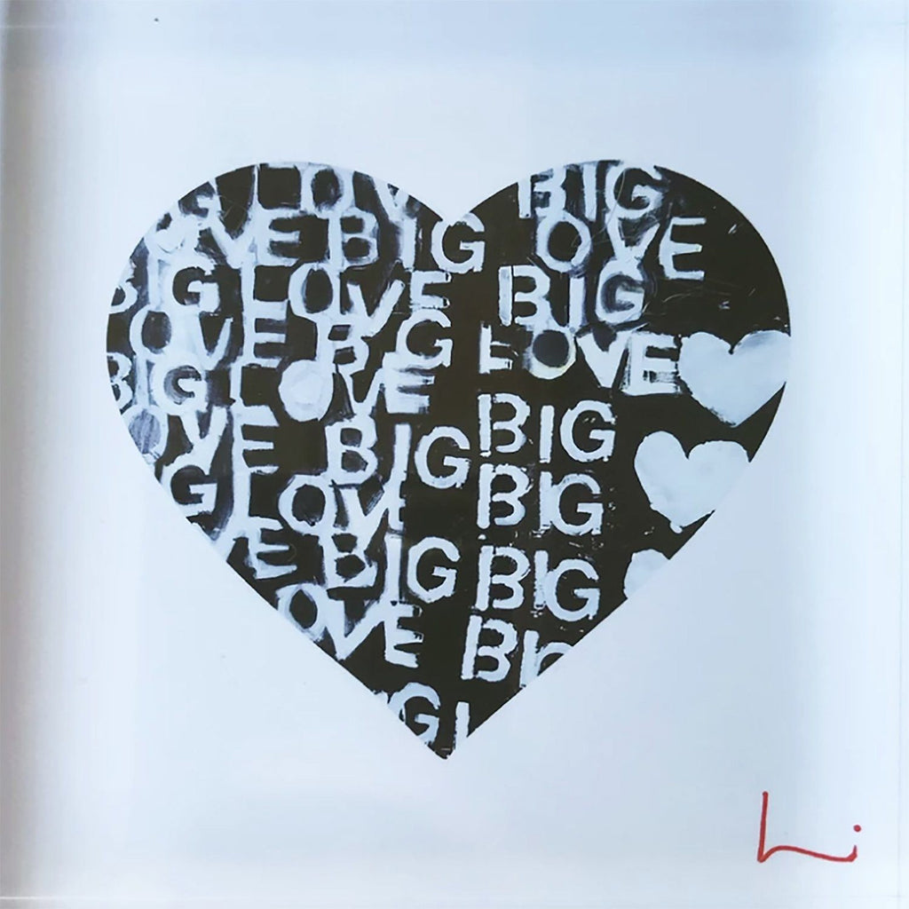 Big Love Block of Love Art