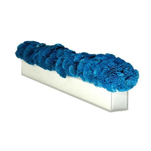 Blue Balsa Wood Centerpiece  KRISLYN Accessories