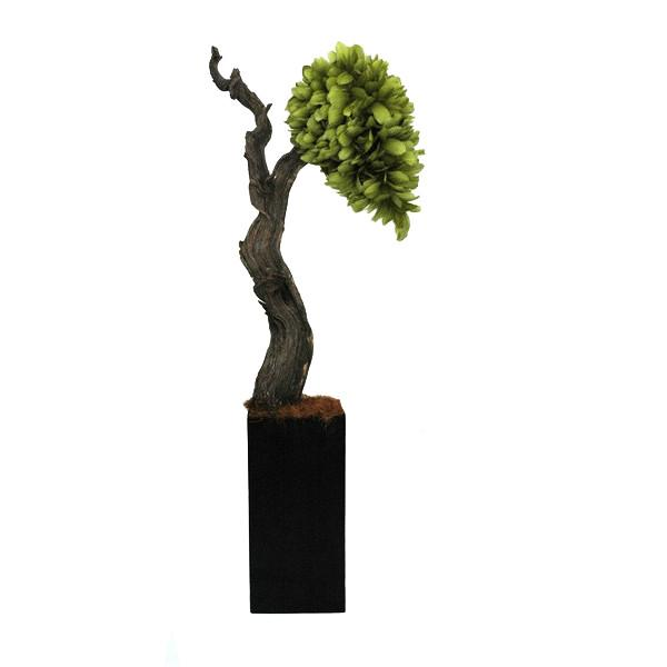 Green Feather Tree Display Sculpture Accessories KRISLYN