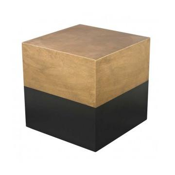 Draper Cube Side Table  Lazy Susan Side Table - 1
