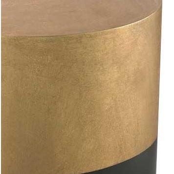 Draper Drum Side Table  Lazy Susan Side Table - 2
