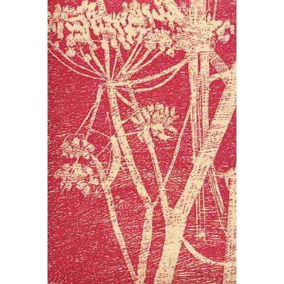 Cow Parsley Flower Wallpaper Cream/Red Lee Jofa Wallpaper - 7