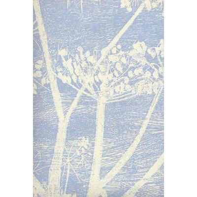 Cow Parsley Flower Wallpaper White/Blue Lee Jofa Wallpaper - 9