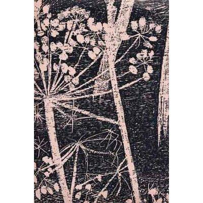 Cow Parsley Flower Wallpaper Taupe/Black Lee Jofa Wallpaper - 1