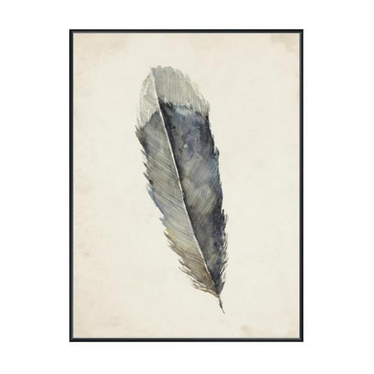 Charcoal Feather 1 Wall Art  Leftbank Art Wall Decor - 2