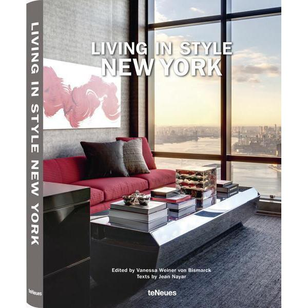 Living in Style: New York Coffee Table Book Coffee Table Books TeNeues
