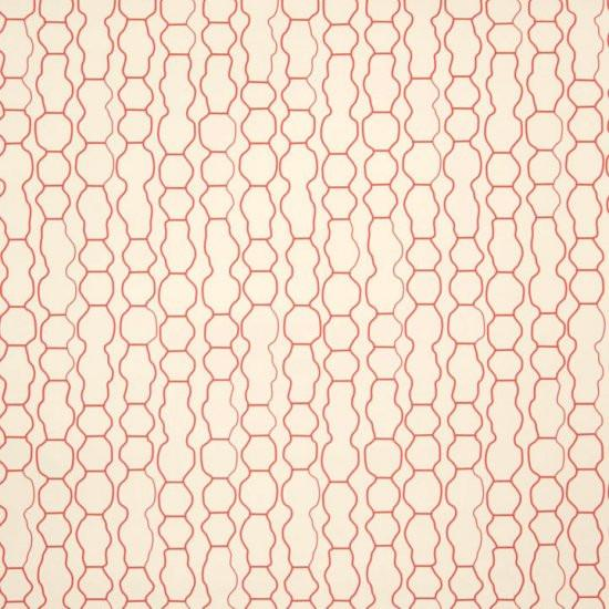 Madison Geometric Wallpaper Cranberry Vodka Madison&Grow Wallpaper - 1
