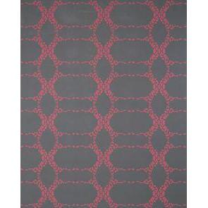Elizabeth Geometric Wallpaper Bougainvilla at Night Madison&Grow Wallpaper - 1
