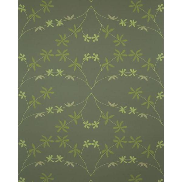 Eloise Flower Wallpaper Leaves at Night Madison&Grow Wallpaper - 4