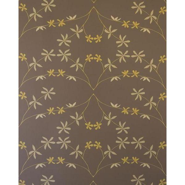 Eloise Flower Wallpaper Goldenrod on Bark Madison&Grow Wallpaper - 6