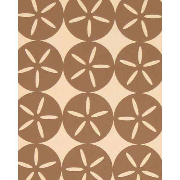 Maggie Geometric Circle Wallpaper Mocha and Cream Madison&Grow Wallpaper - 5