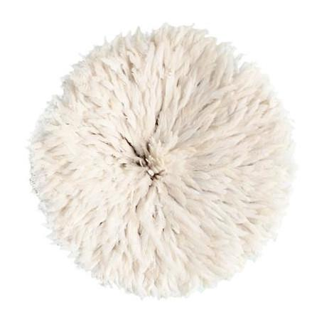 Feather Headdress White Madisons Home and Decor Wall Decor - 1