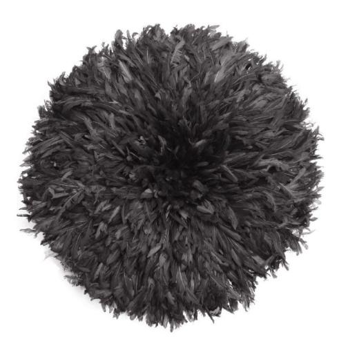 Juju Hat Feather Wall Art Wall Decor My Accent Touch Large Black
