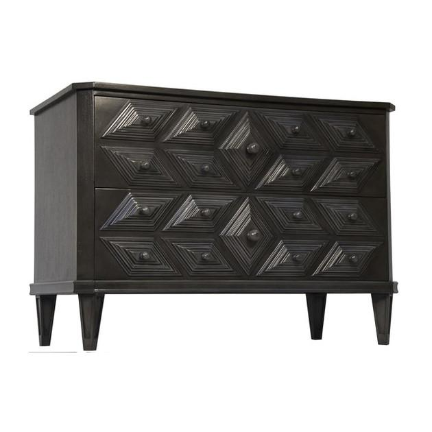 Giza Dresser Brown/Black NOIR Dresser - 2