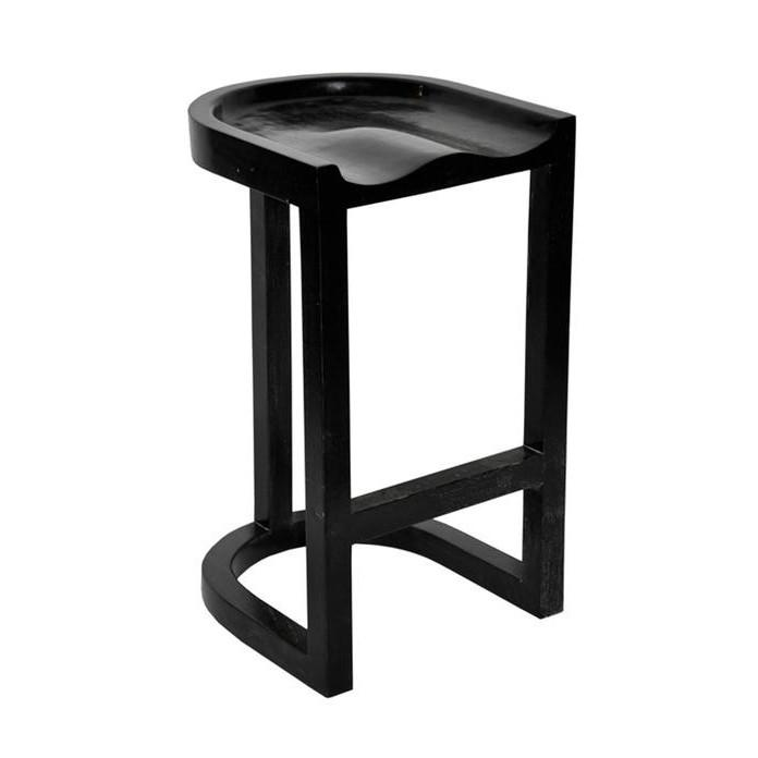 Saddle Stool Bar NOIR Stool - 1