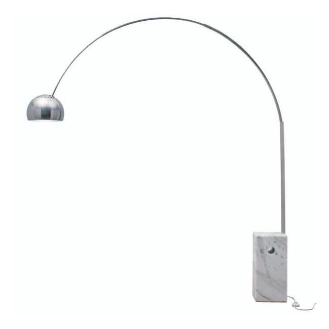 Cora Floor Lamp White Marble NUEVO Lighting - 2