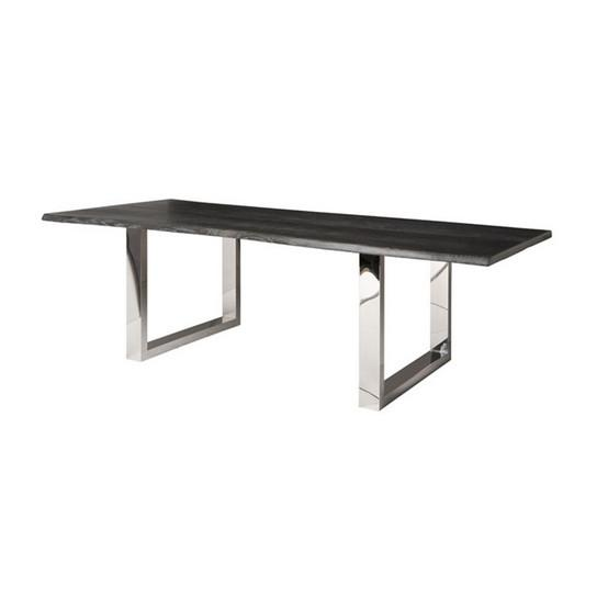 Lyon Dining Table Medium / Oxidized Oak NUEVO Tables - 3