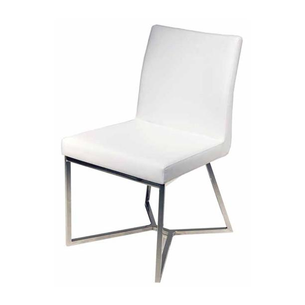 Patrice Chair White NUEVO Chairs - 2