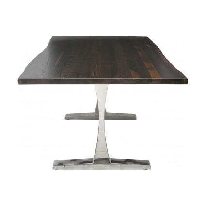Toulouse Dining Table Tables NUEVO Medium Seared Oak
