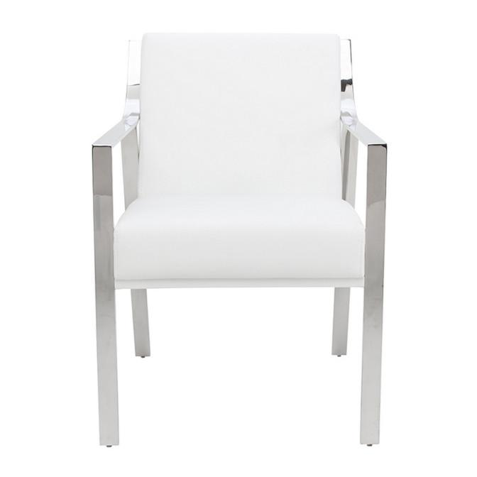 Valentine Dining Chair White NUEVO Chairs - 3