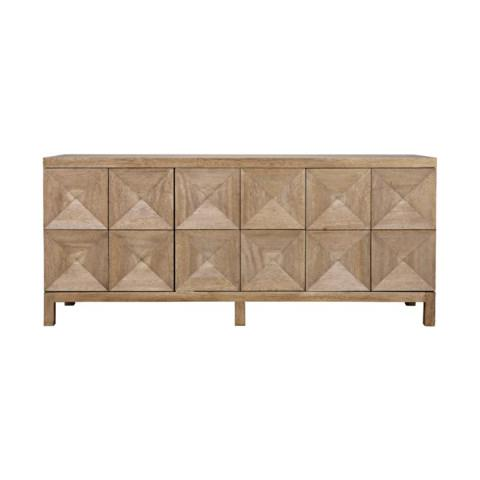 Quadrant Sideboard Consoles NOIR Washed Walnut