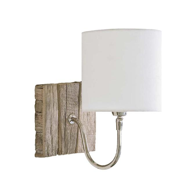 Teddy Wood Sconce Bent Arm Regina Andrews Lighting - 1