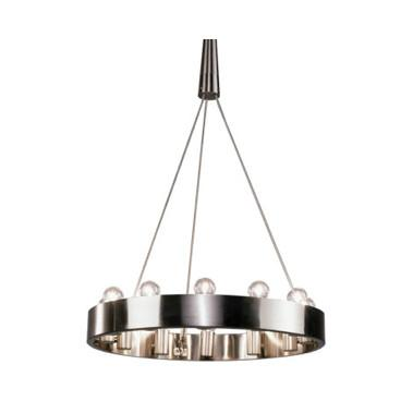 Rico Espinet 12 Blub Brushed Nickel Robert Abbey Lighting - 1