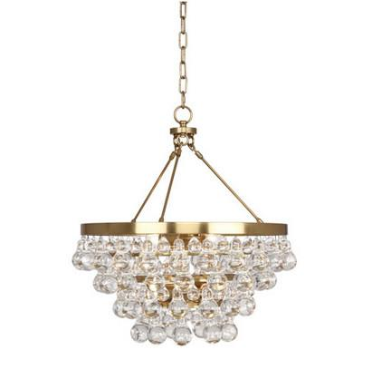 Bling Chandelier Gold Robert Abbey Lighting - 3