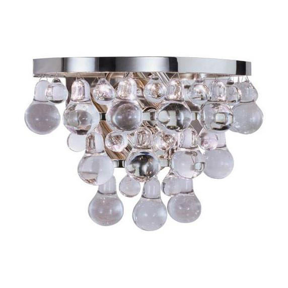 Bling Sconce Lighting Robert Abbey Polished Nickel