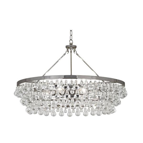 Bling Chandelier Large Polished Nickel Finish Robert Abbey Lighting - 1