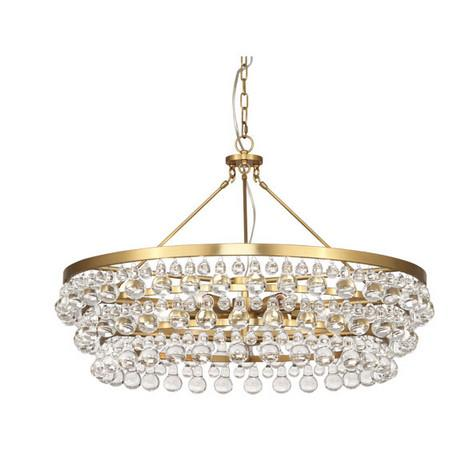 Bling Chandelier Large Lighting Robert Abbey Gold