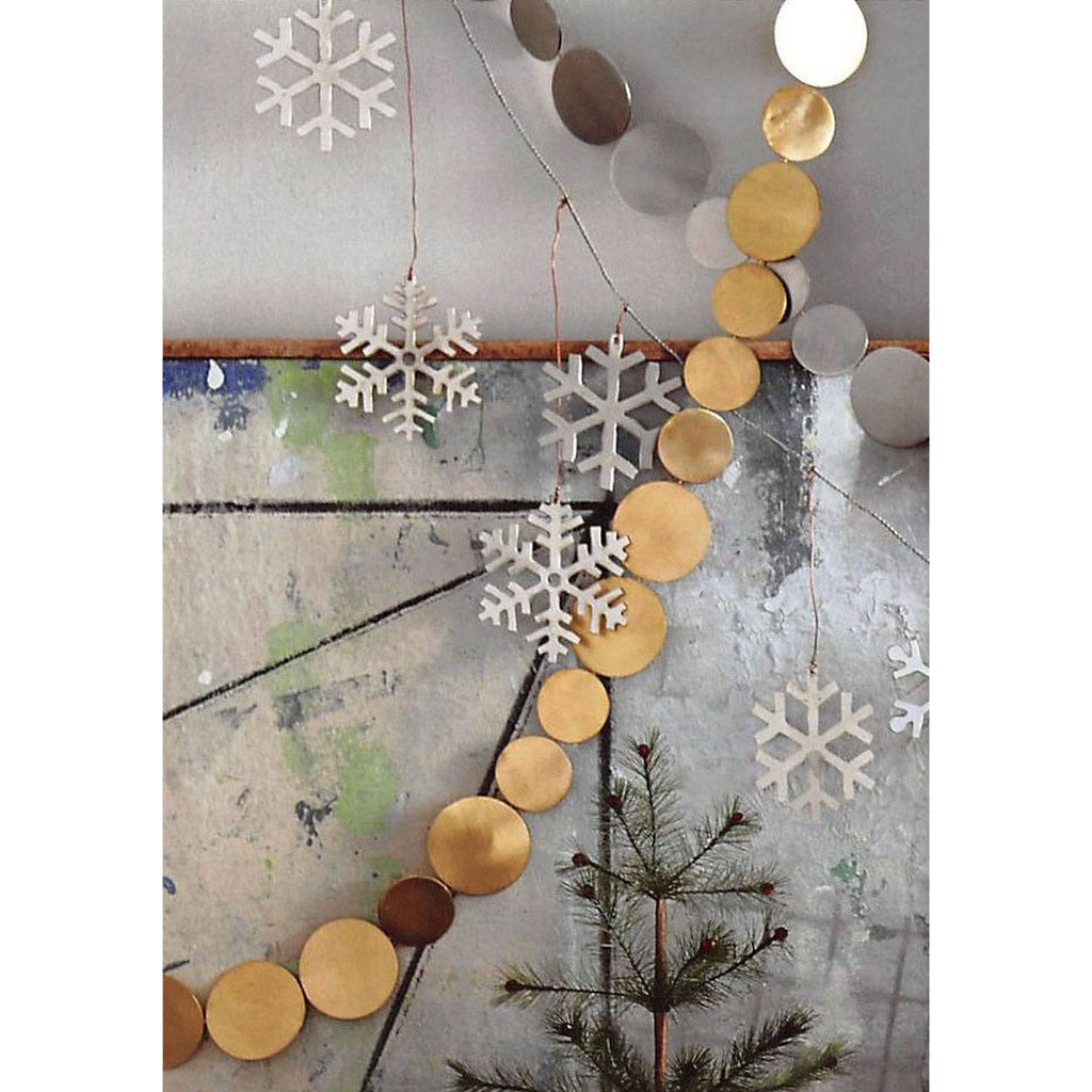 Gold Circles Garland