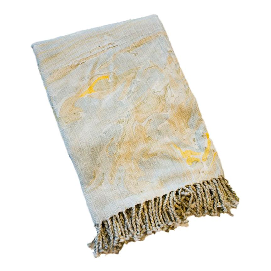 Marble Pattern Throw Blanket