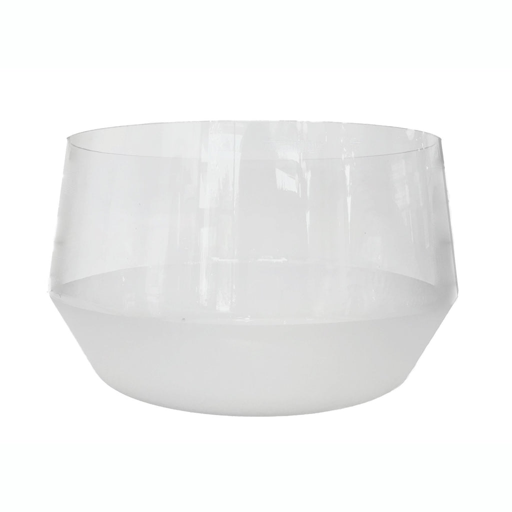 Morandi Frost Glass Punch Bowl  ROOST Serveware