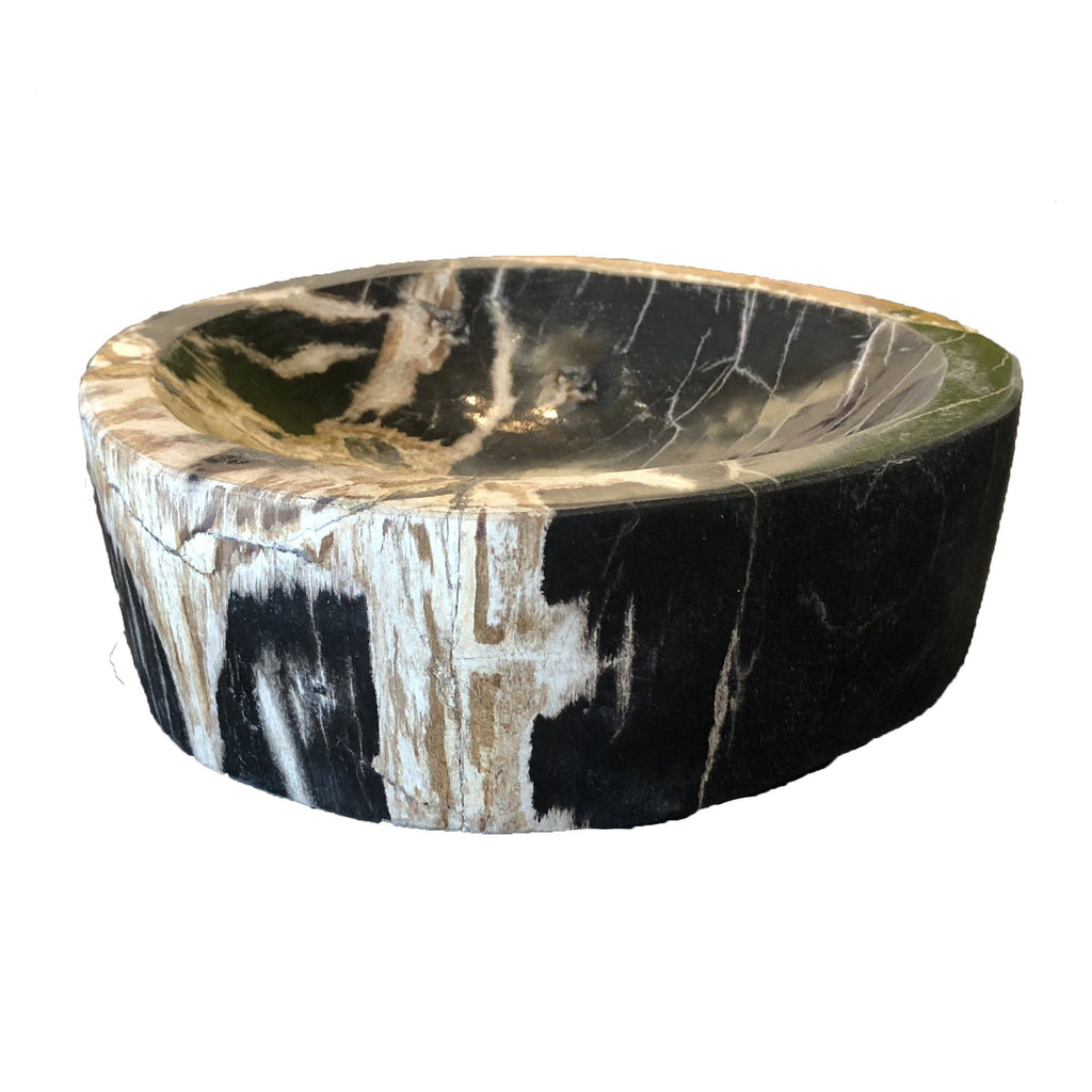 Petrified Wood Nut Bowl