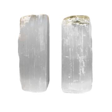 Selenite Bookends  ROOST Accessories - 1