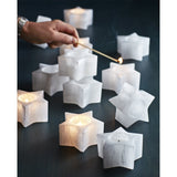 Selenite Star Tealight  ROOST candle holder - 2