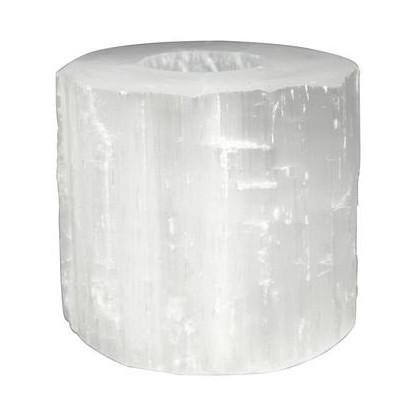 Selenite Tealight Holder  ROOST candle holder - 1