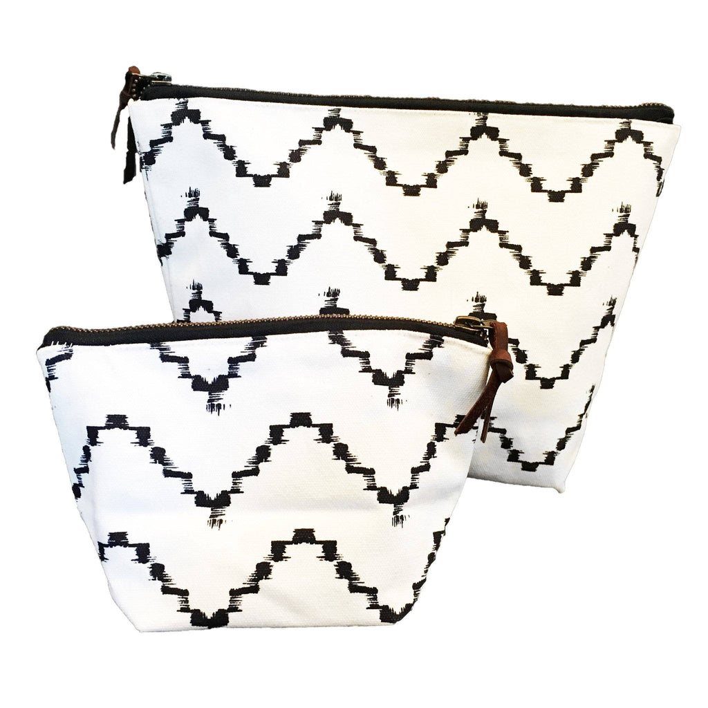 Zig Zag Sumaya Pouch  ROOST tote - 2