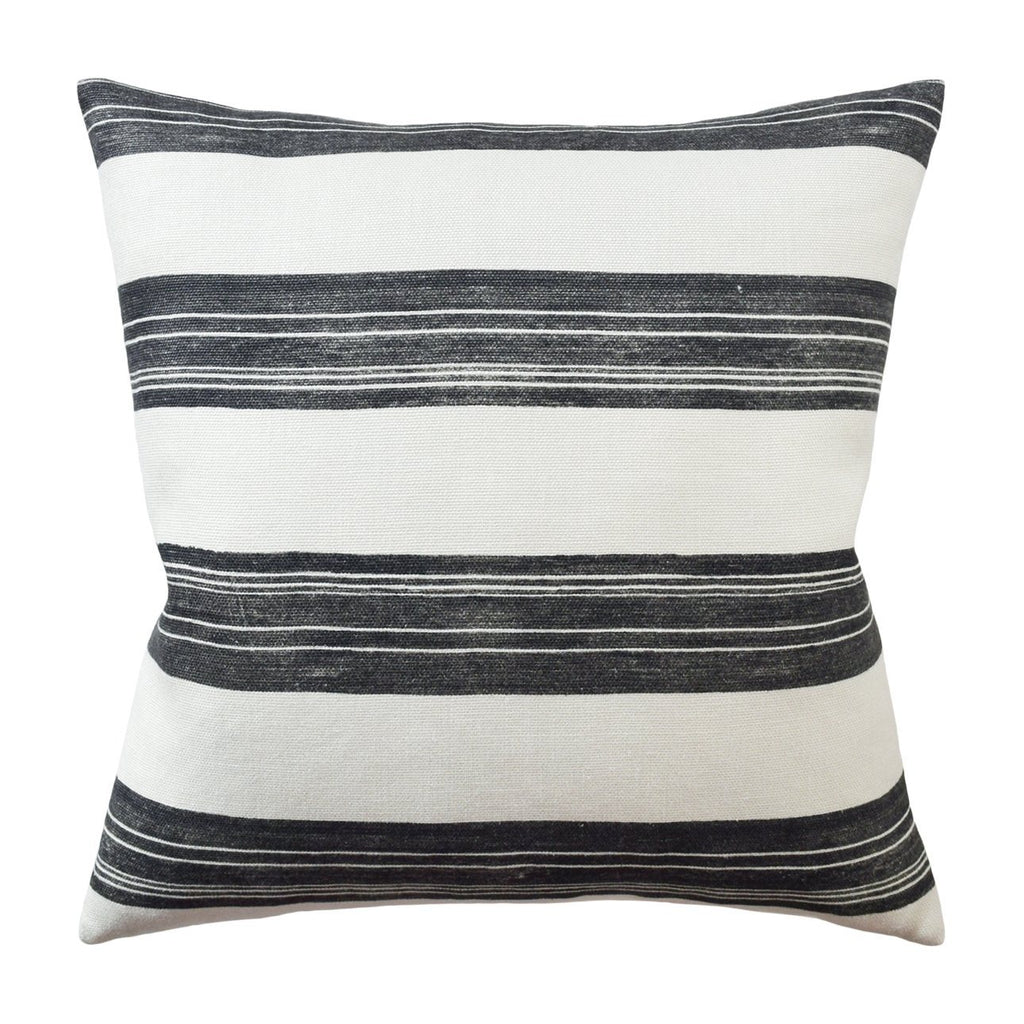 "Askew Pillow pillow Ryan Studio 22""x22"" Onyx"