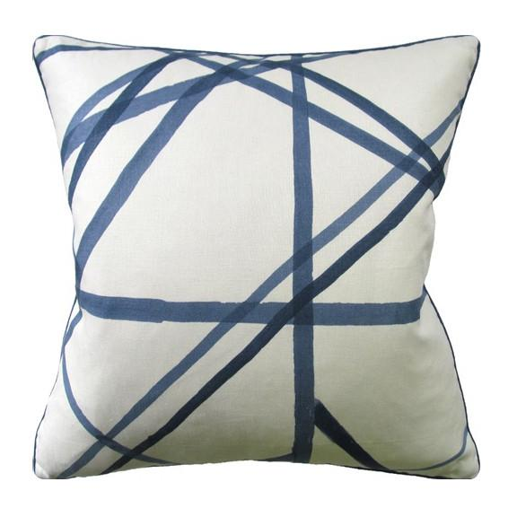 Channels Periwinkle Pillow  Ryan Studio Pillows