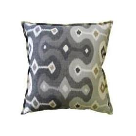 Darya Ikat Pillow Grey Ryan Studio Pillows - 2