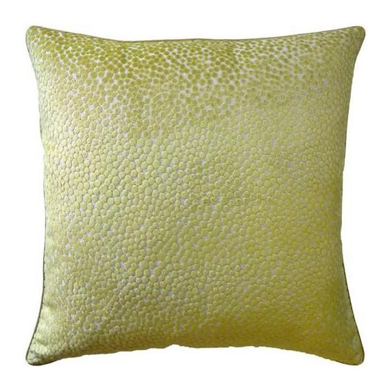 Polka Plush Wasabi Pillow Pillows Ryan Studio 22x22