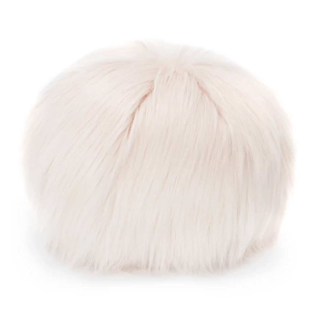 Faux Fur Snowball Pillow Pillows Evelnye Prelonge Himalaya Pink