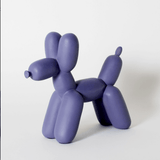 Ceramic Single Color Balloon Dog Bookend Accessories Imm Living Purple