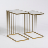 Retro Nesting Tables S/2