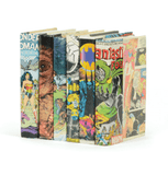 Vintage Comic Book Decorative Book
